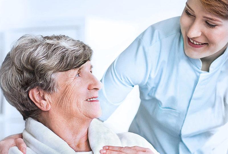 Die Wäscherei Bohnet beliefert Kunden aus dem Bereich Senioren- und Pflegeheim