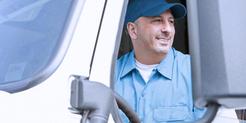 Kraftfahrer Mitarbeiter der Wäscher Bohnet