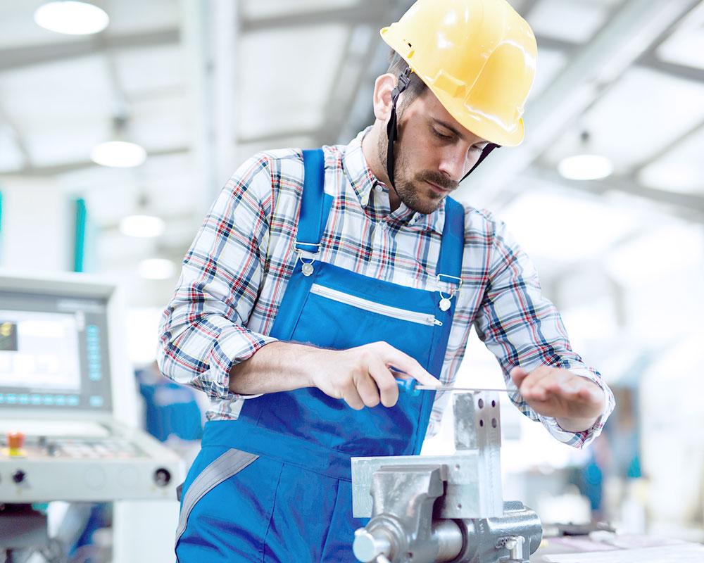 Die Wäscherei Bohnet beliefert Kunden aus den Branchen Handwerk und Industrie