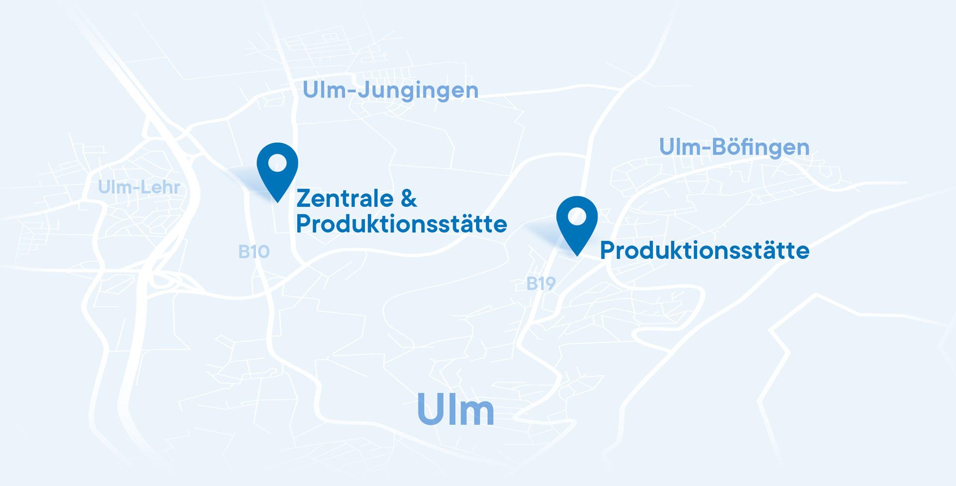 Die Wäscherei Bohnet besitzt zwei Standorte in Ulm und Jungingen