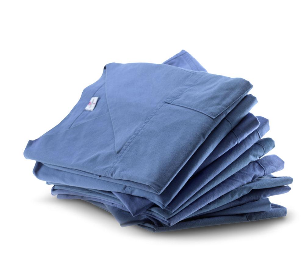 Arbeitskleidung kann bei der Wäscherei Bohnet gemietet werden