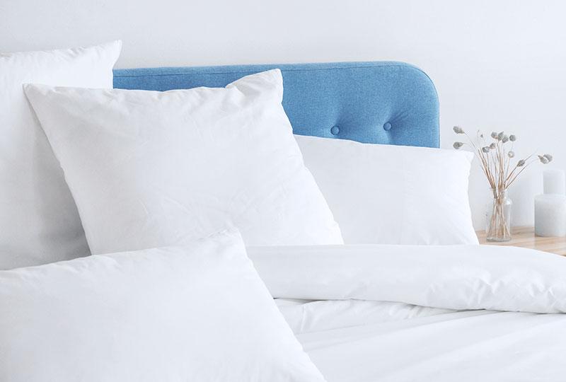 Die Wäscherei Bohnet bietet komplette Sets für Betttextilien