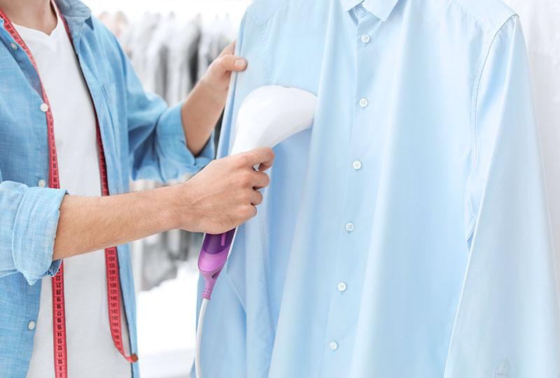 Die Wäscherei Bohnet bügelt Wäsche gemäß der Pflegehinweise