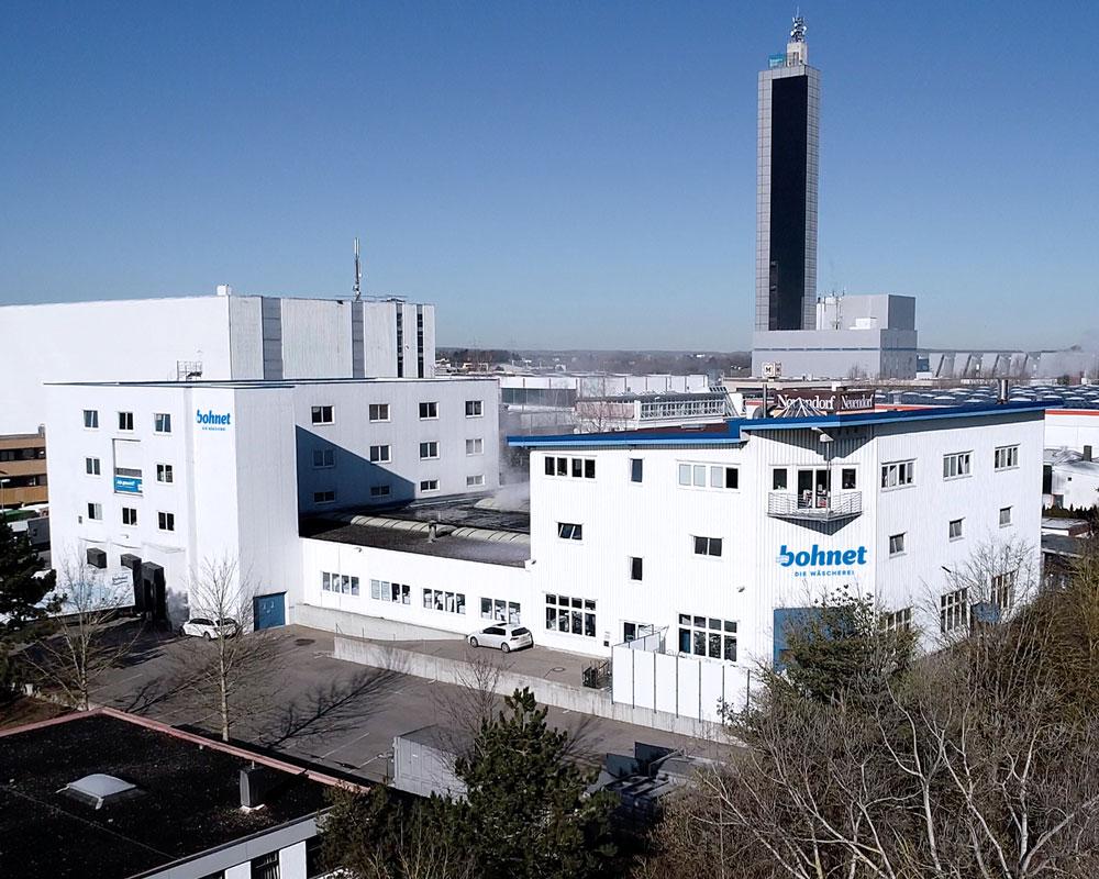 Produktionsstätte der Wäscherei Bohnet