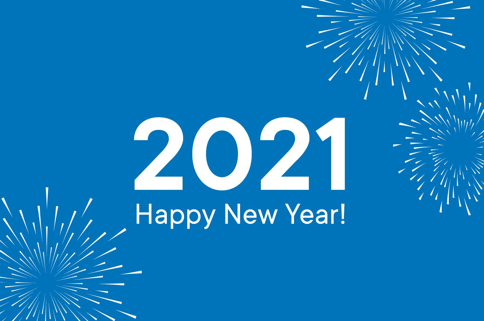 Happy New Yeas 2021